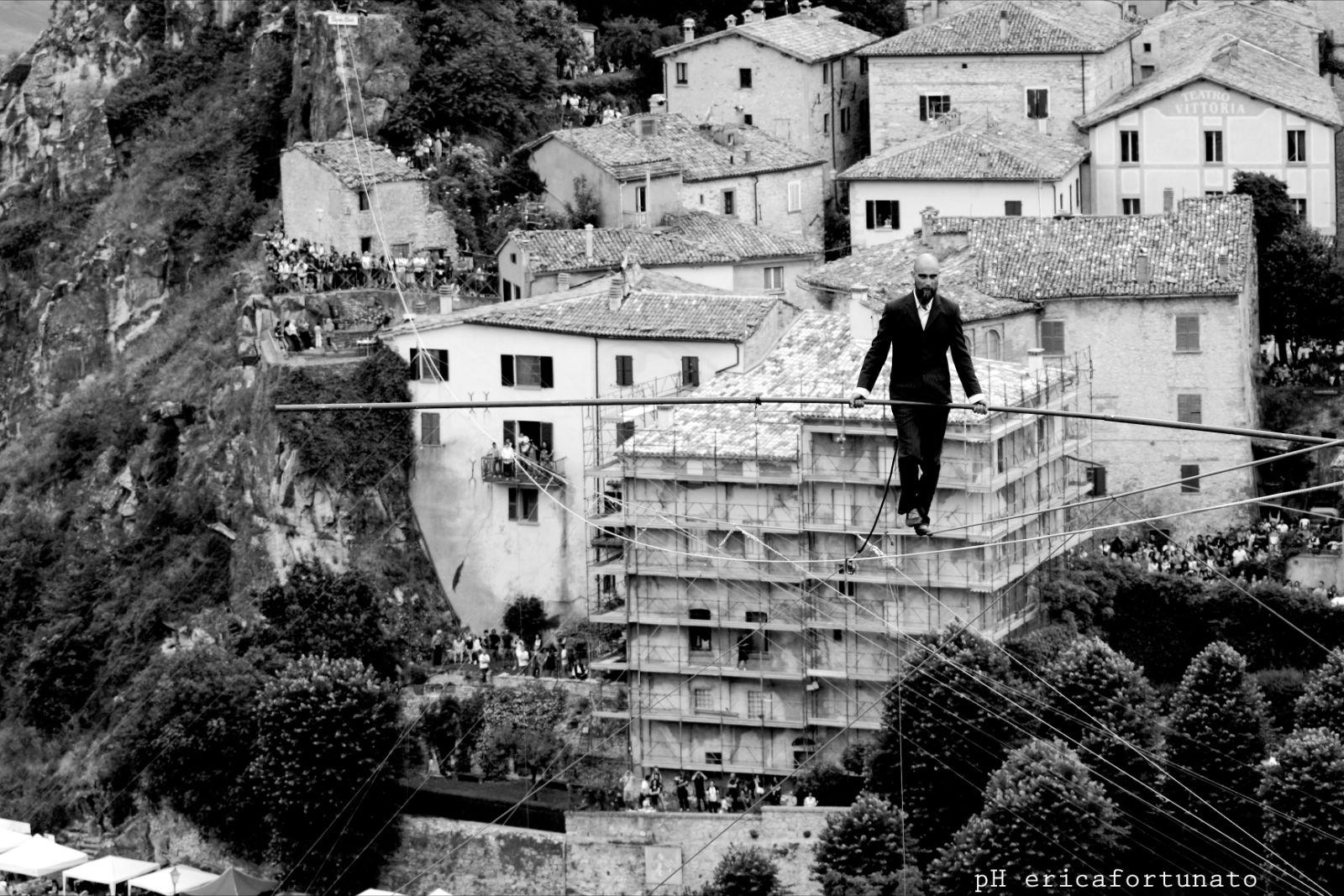 Andrea Loreni – Funambolo a grandi altezze